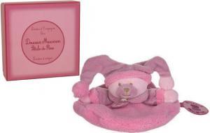 mini doudou ours macaron p tale de rose violet doudou et compagnie. Black Bedroom Furniture Sets. Home Design Ideas