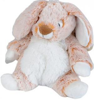 Peluche lapin orange marron et blanc tout doux et tout mou - Peluche lapin marron ...