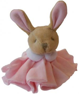 mini doudou lapin l 39 ange rose pastel dc2357 doudou et compagnie. Black Bedroom Furniture Sets. Home Design Ideas