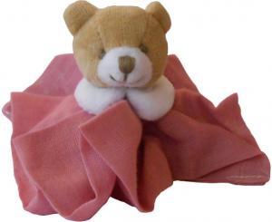 mini doudou ours l 39 ange rose fonc dc2357 doudou et compagnie. Black Bedroom Furniture Sets. Home Design Ideas