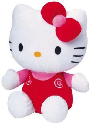mini peluche hello kitty rouge et blanche hello kitty sanrio jemini. Black Bedroom Furniture Sets. Home Design Ideas
