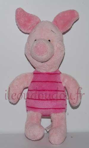 Peluche cochon Porcinet rose Disney Baby, Nicotoy, Simba Toys (Dickie)