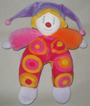 Gino le Clown peluche  Moulin Roty