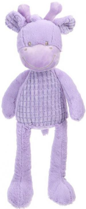 Peluche girafe violet 40 cm Nicotoy, Tex Baby, Carrefour