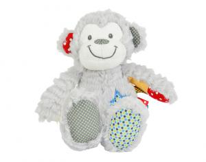 Peluche singe gris Youmy Nicotoy, Simba Toys (Dickie)