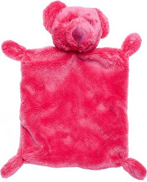Doudou ours rose fushia plat rectangle Kitchoun - Kiabi, Simba Toys (Dickie), Nicotoy
