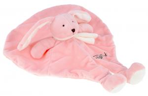 Doudou lapin marionnette rose *Layette* - BN780 Baby Nat
