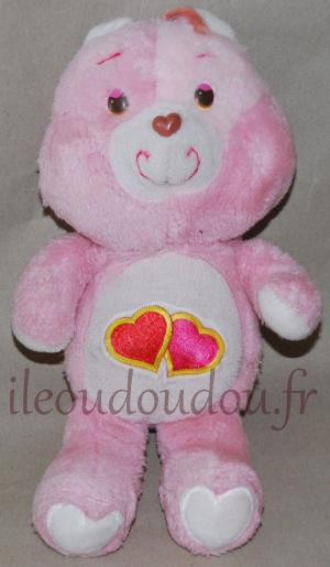 Groschéri  Bisounours rose peluche ours vintage Kenner, Bisounours Care Bear