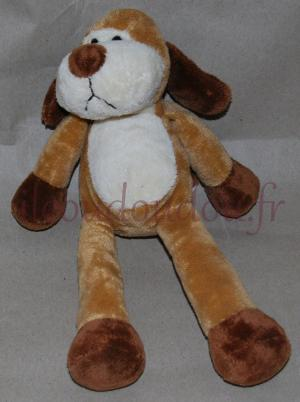 Peluche chien marron TOTAL Nicotoy, Simba Toys (Dickie)