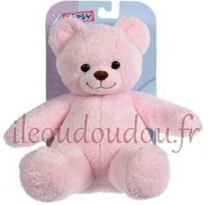 Peluche ours Club rose Gipsy