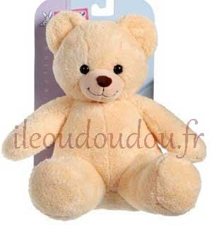 Peluche ours Club orange Gipsy