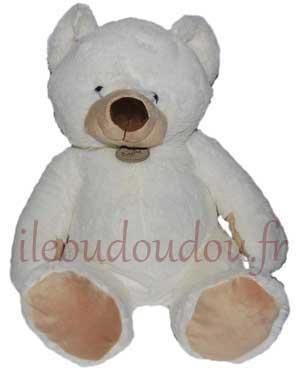 Peluche ours blanc *Naturel* - BN943 Baby Nat