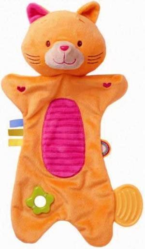 Doudou chat orange Mia Minimi, Creativtoys