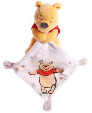 Tenant Mouchoir Ours Winnie Disney Peluche Orange Et Un Gris Blanc oeEQCWdxBr