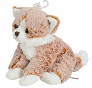 Chat peluche orange Nicotoy, Simba Toys (Dickie)