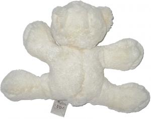 Peluche ours polaire blanc sos