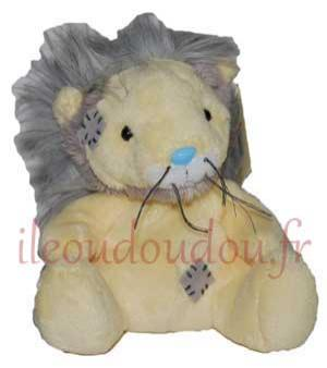Mini peluche lion jaune et gris Leboo *My Blue Nose friends* Marques diverses