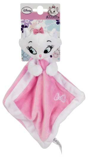 Doudou plat chat Marie rose et blanc Aristochats Disney Baby, Nicotoy, Simba Toys (Dickie)