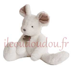 Peluche souris blanche *Sweety couture* - HO2644 Histoire d'ours