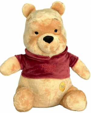 Grande peluche Winnie pull bordeaux Disney Baby, Nicotoy, Simba Toys (Dickie)