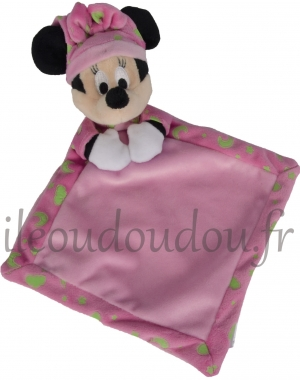Doudou Minnie rose luminescent Disney Baby, Nicotoy, Simba Toys (Dickie)
