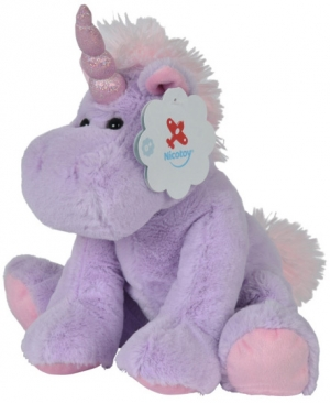 Licorne en peluche violette Nicotoy, Simba Toys (Dickie)
