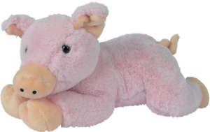 Peluche cochon rose couché Nicotoy, Simba Toys (Dickie)