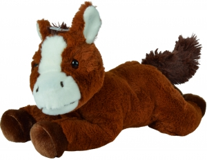 Peluche cheval marron couché Nicotoy, Simba Toys (Dickie)