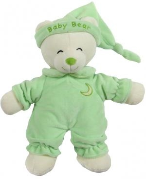Peluche ours vert Baby Bear Gipsy