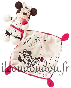 Doudou souris Minnie Perfect FRIENDS Disney Baby, Simba Toys (Dickie), Nicotoy