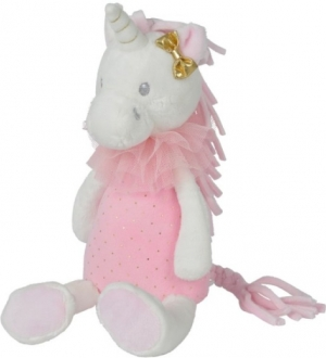 Peluche Licorne rose blanche et dorée Nicotoy, Simba Toys (Dickie)