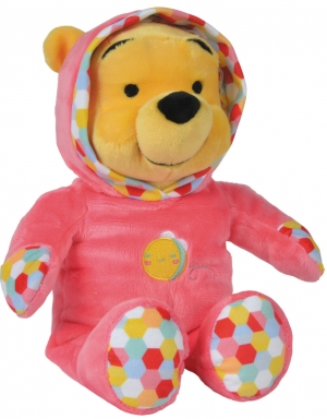 Peluche Winnie rose abeille Grand Modèle Disney Baby, Nicotoy, Simba Toys (Dickie)