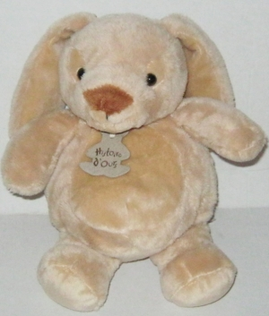 Peluche lapin marron clair boule ho1963 histoire d 39 ours - Peluche lapin marron ...