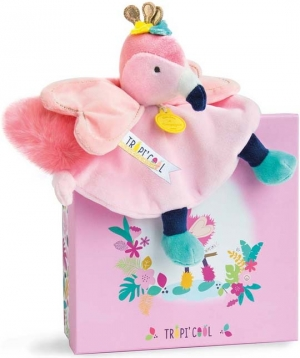 Doudou flamand rose Tropi'cool DC3282 sos