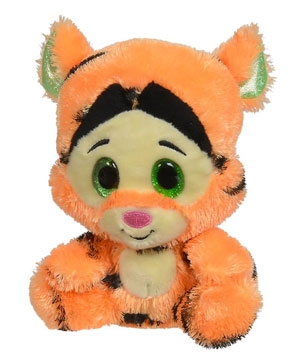 Peluche Tigrou orange à grands yeux Disney Baby, Nicotoy, Simba Toys (Dickie)