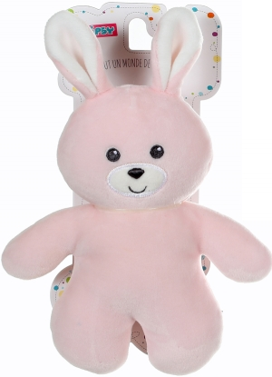 Peluche lapin rose Ptidoux Gipsy