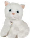 Peluche sonore chat blanc  Gipsy