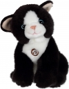 Peluche sonore chat noir Gipsy