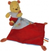 Peluche Winnie tenant un mouchoir rouge Pooh Disney Baby - Nicotoy - Simba Toys (Dickie)