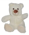 Peluche ours assis blanc Nicotoy - Simba Toys (Dickie)