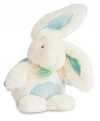 Peluche musicale lapin turquoise et blanc *Câlins* - BN072 Baby Nat