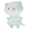 Mini doudou chat bleu et blanc Silver Cross - Marques diverses
