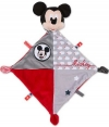 Doudou Mickey gris et rouge losange *Nuages* Disney Baby - Nicotoy - Simba Toys (Dickie)