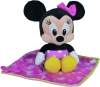 Minnie peluche avec couverture Disney Baby - Nicotoy - Simba Toys (Dickie)