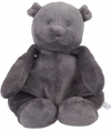 Ours Nouky peluche gris anthracite Noukie's
