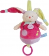 Lapin musical rose Gourmandise BN0127 Baby Nat