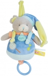 Ours musical bleu Gourmandise BN0127 Baby Nat
