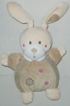 Peluche lapin beige ronds brodés Nicotoy - Simba Toys (Dickie)