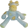 Peluche girafe vache bleue verte et orange Tex Baby