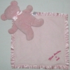 Grand doudou ours rose Baby Cuddles Marques diverses